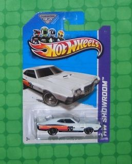 2013 Hot Wheels Showroom 242 Performance 72 Ford Gran Torino Sport