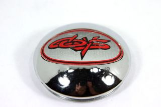 Chrome Coys Wheels Cap 75mm 3in