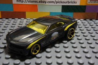 Hot Wheels Black CHEVY CAMARO CONCEPT INDY 500 Classic Diecast