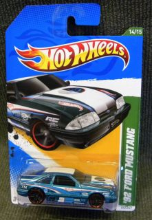2012 Hot Wheels 92 Ford Mustang Reg Treasure Hunt VHTF