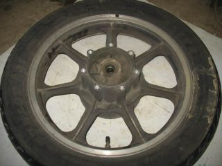 Rear Wheel Tire Rim Hub 85 Kawasaki KZ1000 Police 84