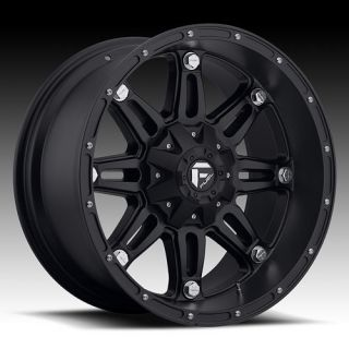 22 Wheels Rims Fuel Hostage Black Expedition F150 FX4