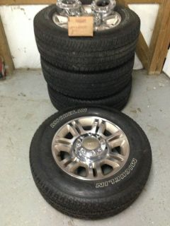 2012 F250 King Ranch Wheels Tires