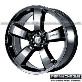 20 DODGE CHARGER SRT8 BLACK CHROME WHEELS   PERMACHROME   OUTRIGHT