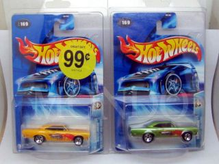 RARE HOT WHEELS WASTELANDERS SERIES 70 PLYMOUTH ROAD RUNNER W/ COLOR
