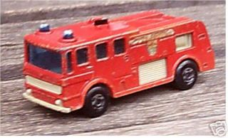 Matchbox Lesney No 35 Merryweather Fire Engine Truck