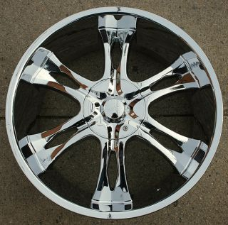 Incubus Nemesis 763 22 Chrome Rims Wheels FJ Cruiser Landcruiser 22 x