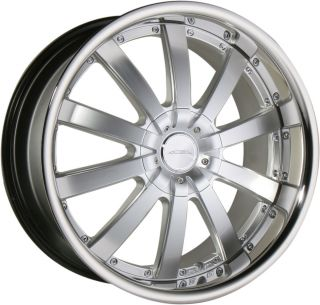 22 Ace Executive Hypersilver Wheels Rims Porsche Cayenne Audi Q7 VW