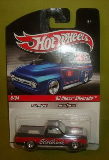 HOT WHEELS DELIVERY SERIES EDELBROCK 83 CHEVY SILVERADO WITH REAL