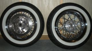 Harley Davidson Road King Classic Wheels Tires