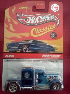 Hot Wheels Classics Series 5 Chase Convoy Custom Blue