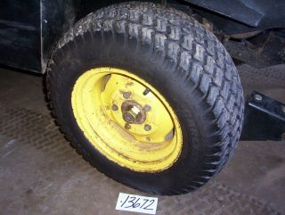 John Deere F935 F932 Front Drive Tires and Wheels