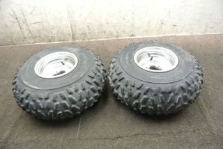 1998 98 Yamaha Warrior YFM 350 YFM350 Rear Wheel Set Rims Tires Wheels