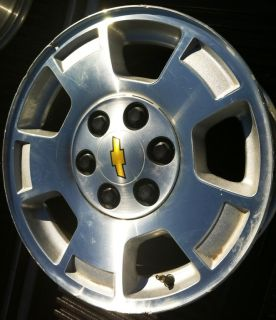 WHEEL GMC GM 17 AVALANCHE SILVERADO SUBURBAN TAHOE RIMS WHEELS 5299