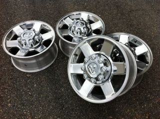2500 RAM Laramie Hemi Cummins Stock Factory 17 Wheels Rims Caps