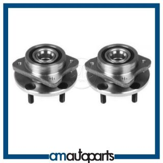 Grand Voyager Caravan Front Wheel Bearing Hub Assembly Pair Set