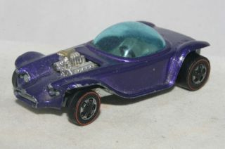 Hot Wheels Redline Beatnik Bandit Spectraflame Metallic Purple HK