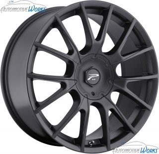 18x8 Platinum 401 Marathon 5x120 5x115 42mm Black Wheels Rims Inch 18