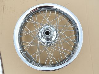 Harley Davidson Softail Front 16 x 3 Single Disc Wheel