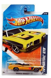 2011 Hot Wheels Muscle Mania 105 70 Pontiac GTO