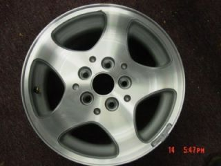 Jeep Grand Cherokee OEM WHEELS RIM wheel aluminium 96 97 98 ZJ alloy