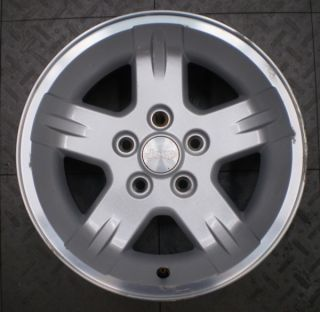 9050 Jeep Wrangler 15 Factory OE Alloy Wheel Rim B