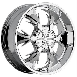 Iceman Chrome Wheels Rims 5x135 F150 97 03 Expedition 97 03