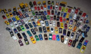 Huge Lot Hot Wheels Matchbox Tonka Cars Trucks 144pcs