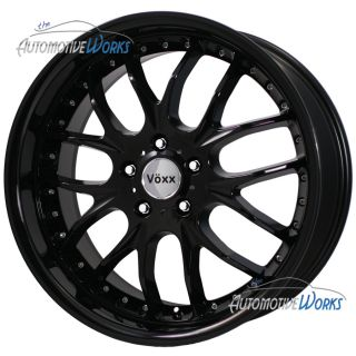 Voxx Maglia 5x114 3 5x4 5 40mm Gloss Black Wheels Rims inch 17