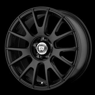 17 x8 Motegi MR118 118 Black Wheels Rims 4 5 Lug