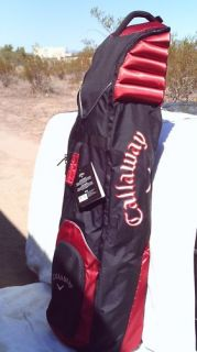 Callaway Golf Bag Travel Cover Medium Cart Carrier with Wheels