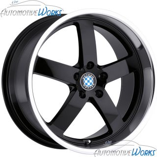 Beyern Rapp 5x120 35mm Gloss Black Mirror Rims Wheels inch 17