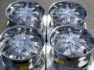 65 Chrome Ford Ranger Wheels Explorer Jeep Mustang Alloy Rims