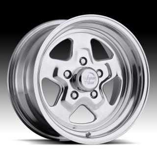 15x7 Vision Star 15 Wheels Rims Chevy Camaro Chevelle Nova Impala