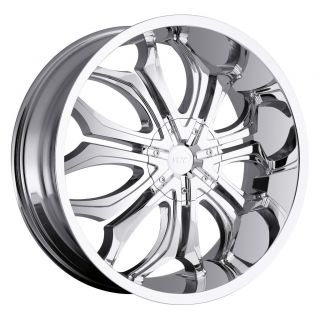 30 inch VCT Godfather Chrome Wheel Rim 6x135 F150 Expedition Navigator