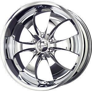 New 22x9 5 6x139 7 Liquid Metal Chrome Wheels Rims