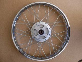 Honda Complete Rear Wheel Rim SS50 CL70 1 4x17 H2573