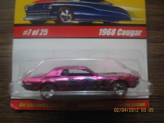Hot Wheels Classics Series 1 1968 Cougar 7 of 25 Fucia
