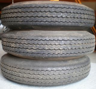 Trailer Wheel Tires P155 80D13 New