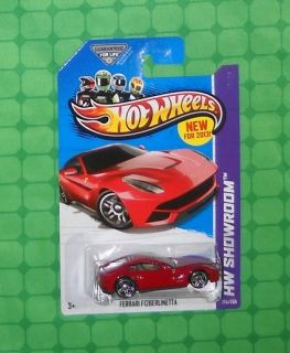 2013 Hot Wheels Showroom   HW All Stars #174   Ferrari F12 Berlinetta