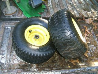 John Deere Lt 150 Front Rims with Tires