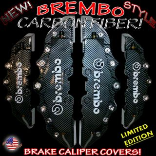 New Item Special Big 4pcs Brembo Carbon Fiber Dub Style Brake