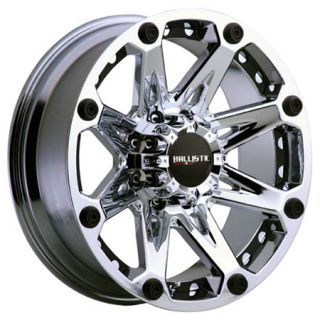 20x9 Ballistic Wheels Jester Chrome Rims 8x165 H2 Chevy 2500 Dodge