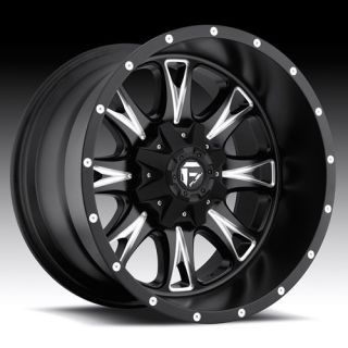 Throttle Wheel Set XD Black 17x9 Rims Ford Chevy Dodge Wheels