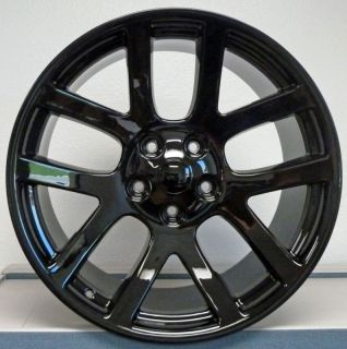 22 SRT10 Dodge RAM Dakota Durango Wheel Rim Black