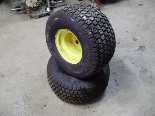 DEERE LX178 LX186 LX172 LX176 LX188 LAWN TRACTOR REAR TIRES & WHEELS