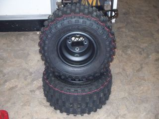 2012 Honda TRX 450R Rear Rims and Tires New 300EX 400EX 250x