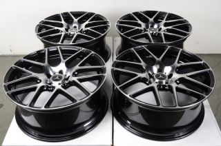 Polished Wheels S500 E320 E500 C350 Audi A6 A8 Mercedes Benz Rims