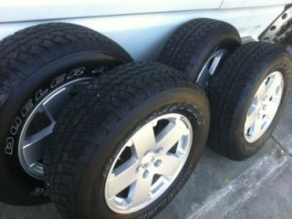2012 JK Jeep Wrangler Tires Wheels Like New 200MILES