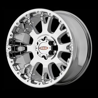 20 20x10 Moto Metal 956 Chrome Wheels 8x170 Ford F250